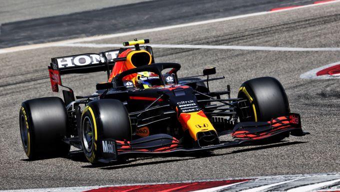 Test F1 2021: Sergio Perez (Red Bull)