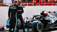 Test F1 2021: Valtteri Bottas e Lewis Hamilton (Mercedes)