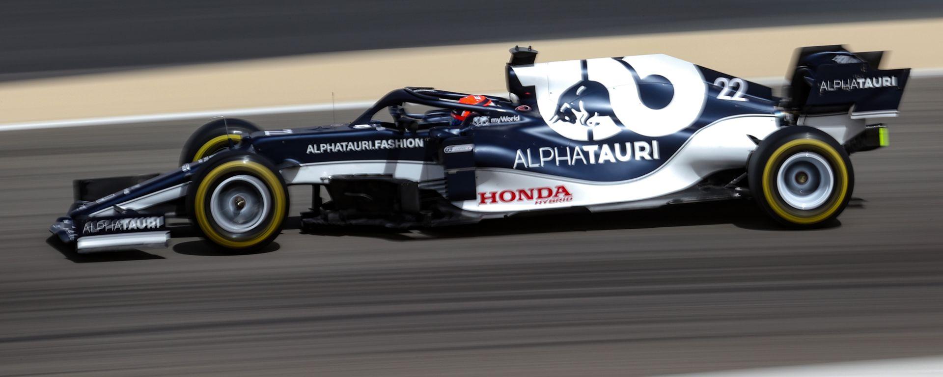 Test F1 2021: Yuki Tsunoda (AlphaTauri)