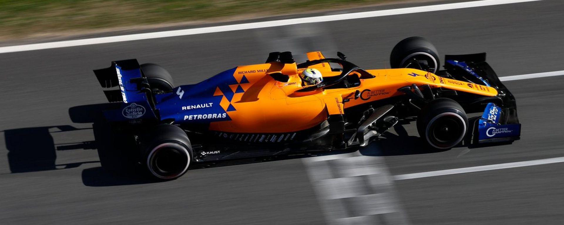 Test F1 Barcellona-2 - Day 1, Lando Norris (McLaren)