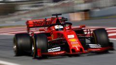 Test F1 Barcellona-2 - Day 1, Sebastian Vettel (Ferrari)