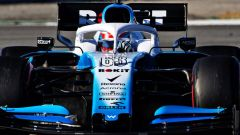 Test F1 Barcellona-2, day 3: George Russell (Williams)