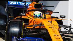 Test F1 Barcellona-2, day 3: Lando Norris (McLaren)