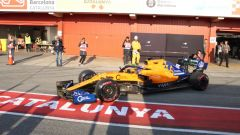 Test F1 Barcellona-2, day 4: Carlos Sainz (McLaren)