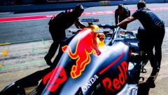 Test F1 Barcellona-2, day 4: Max Verstappen (Red Bull)