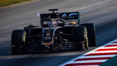 Test F1 Barcellona-2, day 4: Romain Grosjean (Haas)