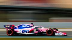 Test F1 Barcellona-2, day 4: Sergio Perez (Racing Point)