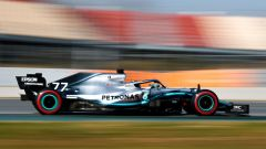 Test F1 Barcellona-2, day 4: Valtteri Bottas (Mercedes)