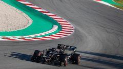 Test F1 Barcellona-2, Grosjean con la Haas