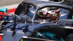 Test F1 Barcellona-2, Lewis Hamilton ha completato una simulazione gara