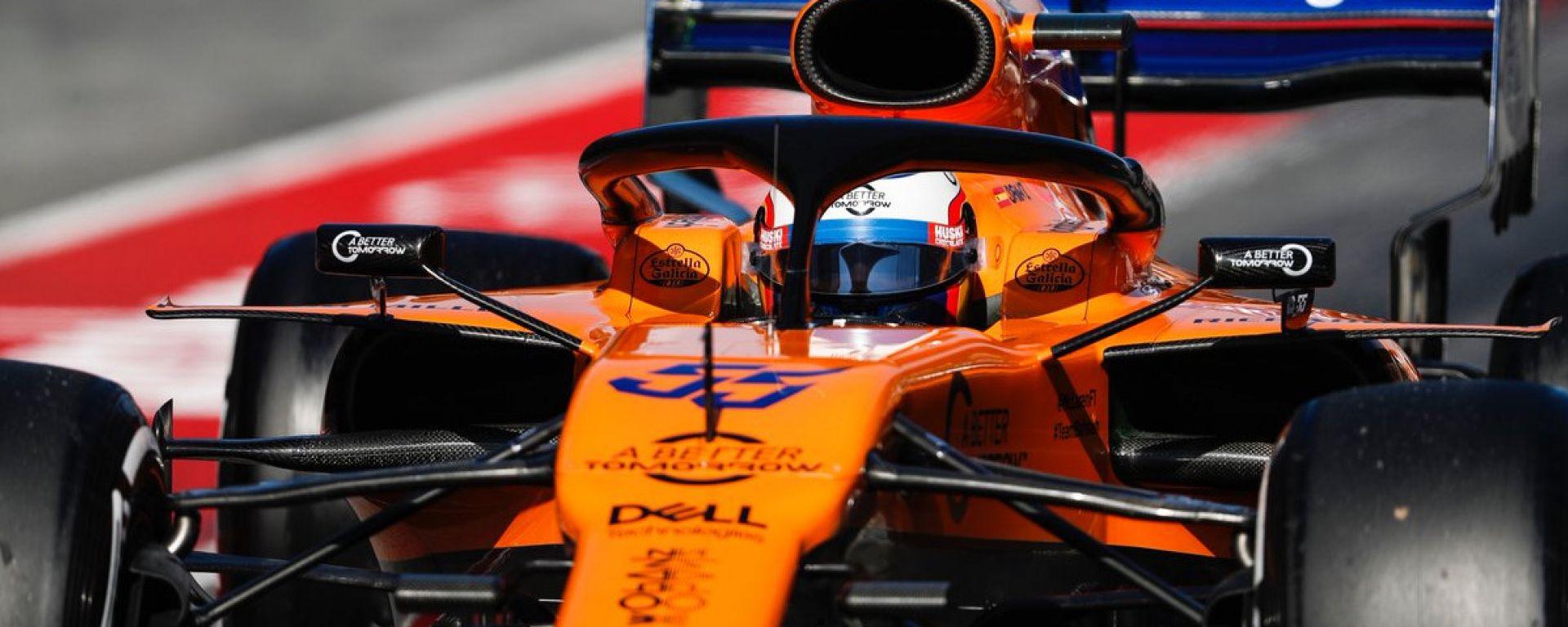 Test F1 Barcellona-2, l'uomo del giorno è Carlos Sainz
