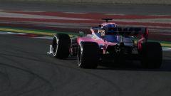 Test F1 Barcellona-2, Perez è secondo in classifica