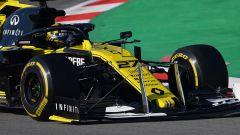 Test F1 Barcellona-2, sensori sulla Renault di Hulkenberg