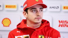 Test F1 Barcellona 2019, Charles Leclerc, Ferrari