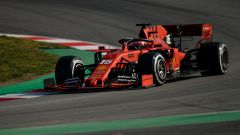 Test F1 Barcellona 2019, Charles Leclerc (Ferrari)