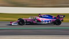 Test F1 Barcellona 2019, Lance Stroll (Racing Point)