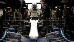 Test F1 Barcellona 2019, le griglie sulla Mercedes di Valtteri Bottas