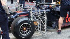 Test F1 Barcellona 2019, le griglie sulla Red Bull di Max Verstappen