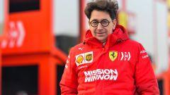 Test F1 Barcellona 2019, Mattia Binotto (Ferrari)