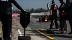 Test F1 Barcellona 2019, Pierre Gasly (Red Bull)
