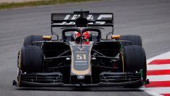 Test F1 Barcellona 2019, Pietro Fittipaldi, test driver della Haas