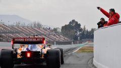 Test F1 Barcellona 2019, Sainz esce dai box