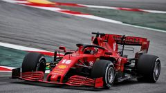 Test F1 Barcellona 2020, Charles Leclerc (Ferrari)