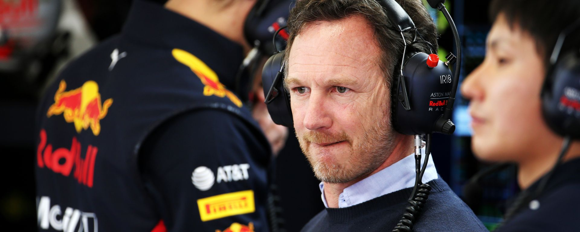 Test F1 Barcellona 2020, Christian Horner (Red Bull)