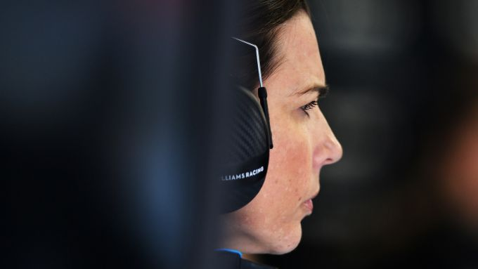 Test F1 Barcellona 2020, Claire Williams (Williams)