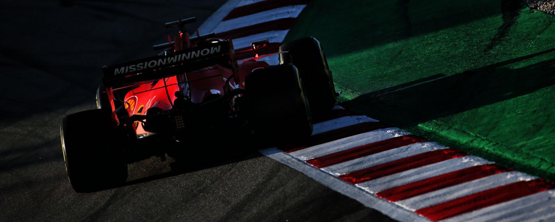 Test F1 Barcellona 2020, Sebastian Vettel (Ferrari)