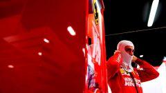 Test F1 Barcellona, Charles Leclerc si prepara ai box Ferrari