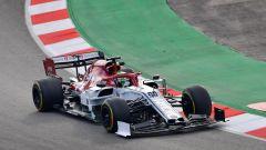 Test F1 Barcellona, day-2. Leclerc imita Vettel, Giovinazzi 3° - Immagine: 5