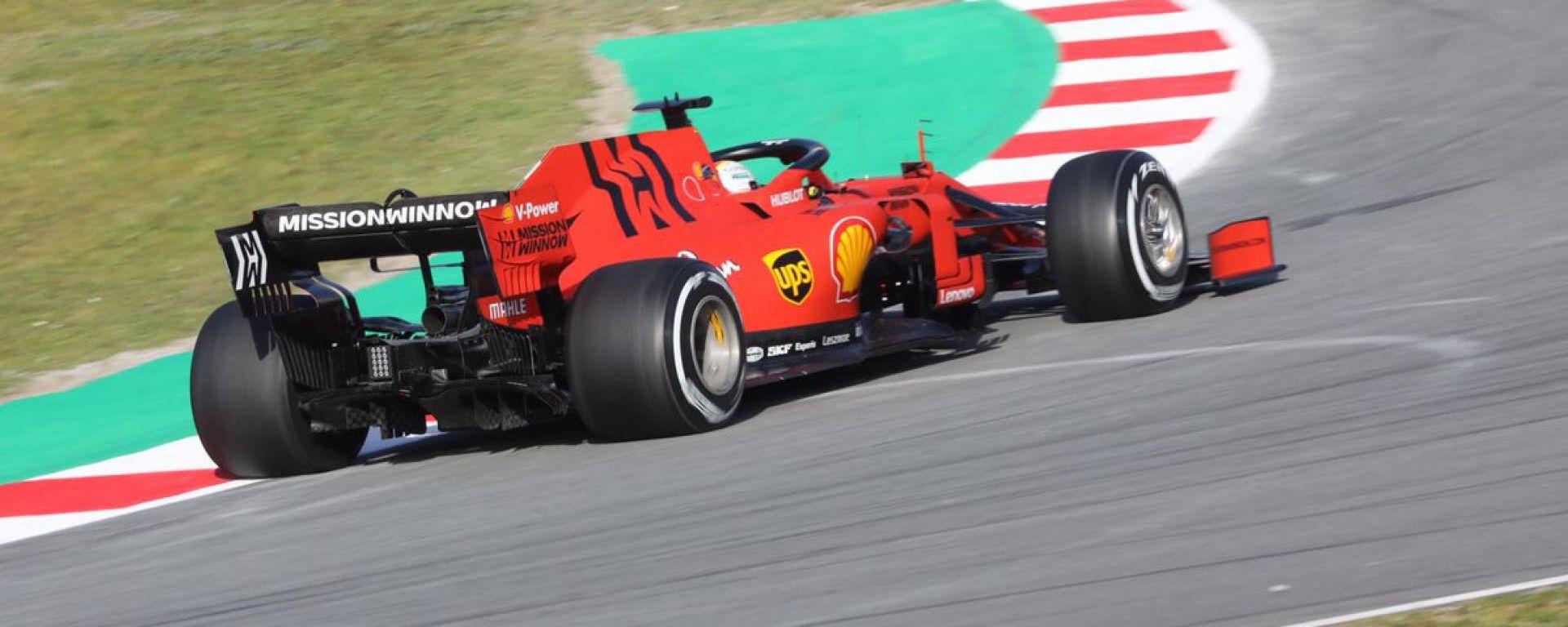 Test F1 Barcellona, day-1. Vettel davanti a tutti nella mattinata