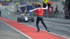 Test F1 Barcellona, day-2. Ferrari chiude al top con Leclerc - Immagine: 17