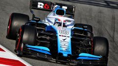 Test F1 Barcellona, George Russell (Williams)