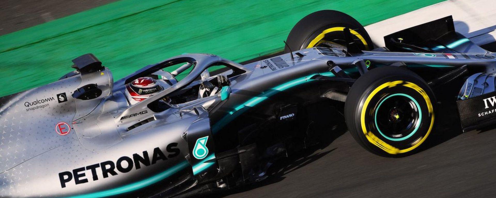 """Test F1 Barcellona, Hamilton: """"Ferrari molto, molto forte"""""""