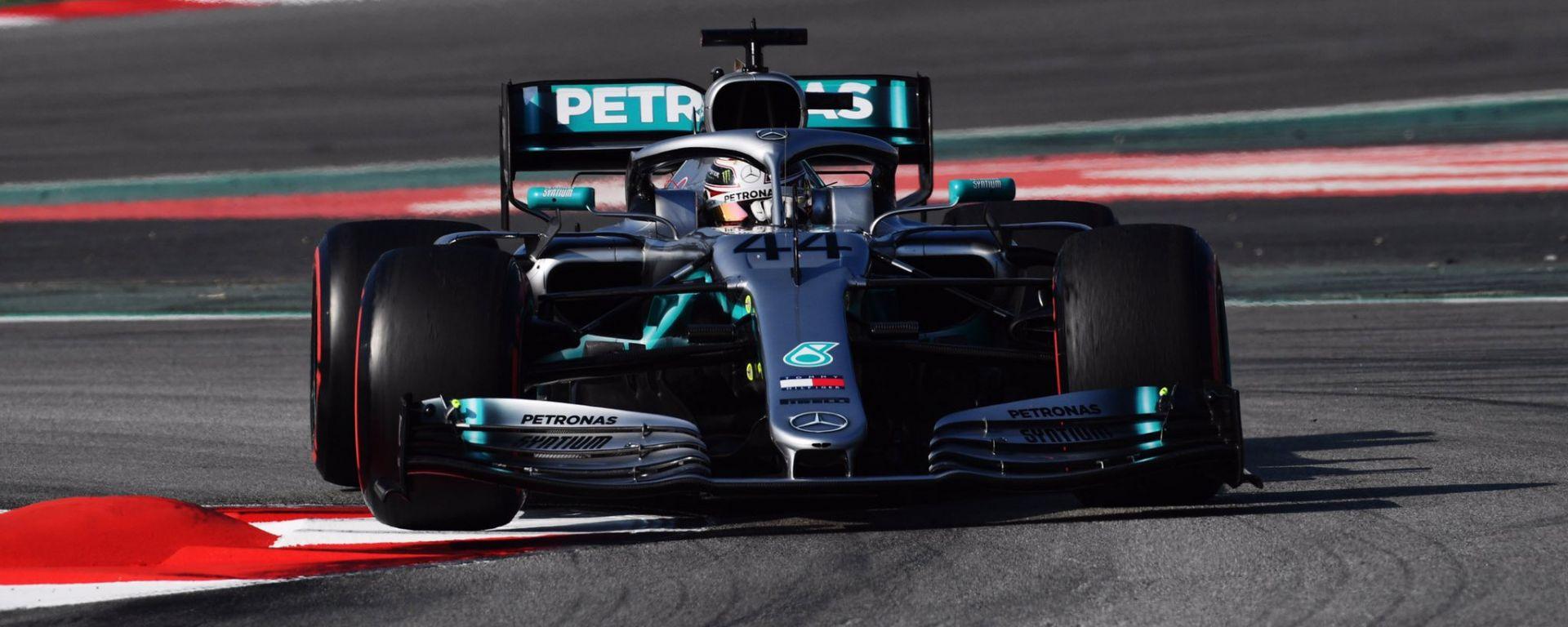 Tutti i numeri della 1° sessione di test F1 a Barcellona