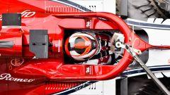 Test F1 Barcellona, Kimi Raikkonen (Alfa Romeo)