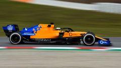 Test F1 Barcellona, Lando Norris (McLaren)