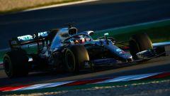 Test F1 Barcellona, Lewis Hamilton (Mercedes)