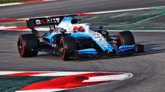 Test F1 Barcellona, Robert Kubica finalmente in pista con la Williams