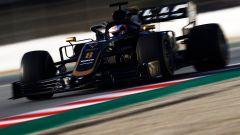 Test F1 Barcellona, Romain Grosjean al volante della sua Haas