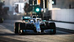 Test F1 Barcellona, Valtteri Bottas (Mercedes)