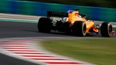 Test Hungaroring 2018, seconda giornata, Lando Norris in azione con la McLaren