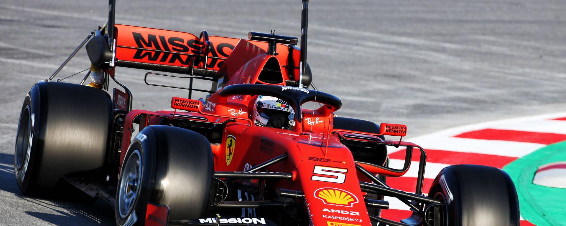 Test invernali F1 2019: Sebastian Vettel (Ferrari)