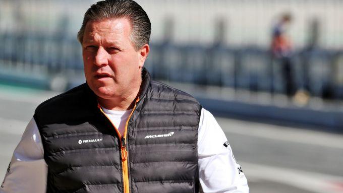 Test invernali F1 2020, Barcellona, Zak Brown, team principal McLaren