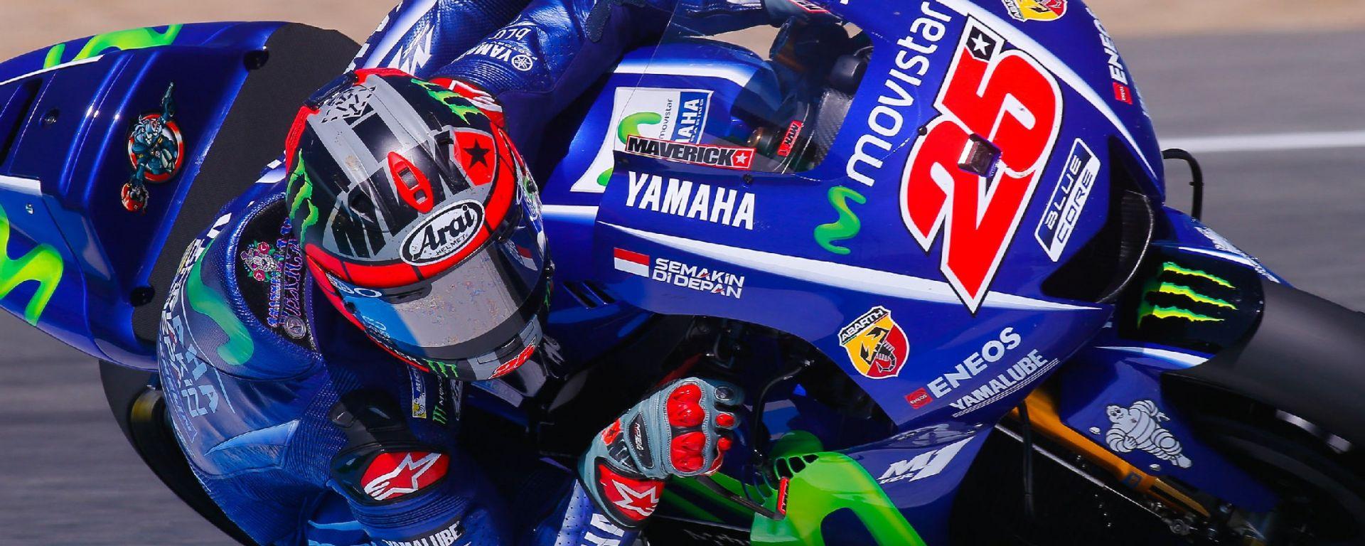 Test MotoGP Jerez 2017: solo 2 millesimi tra Vinales e Marquez, Sale l'Aprilia con Espargarò, Rossi ventunesimo