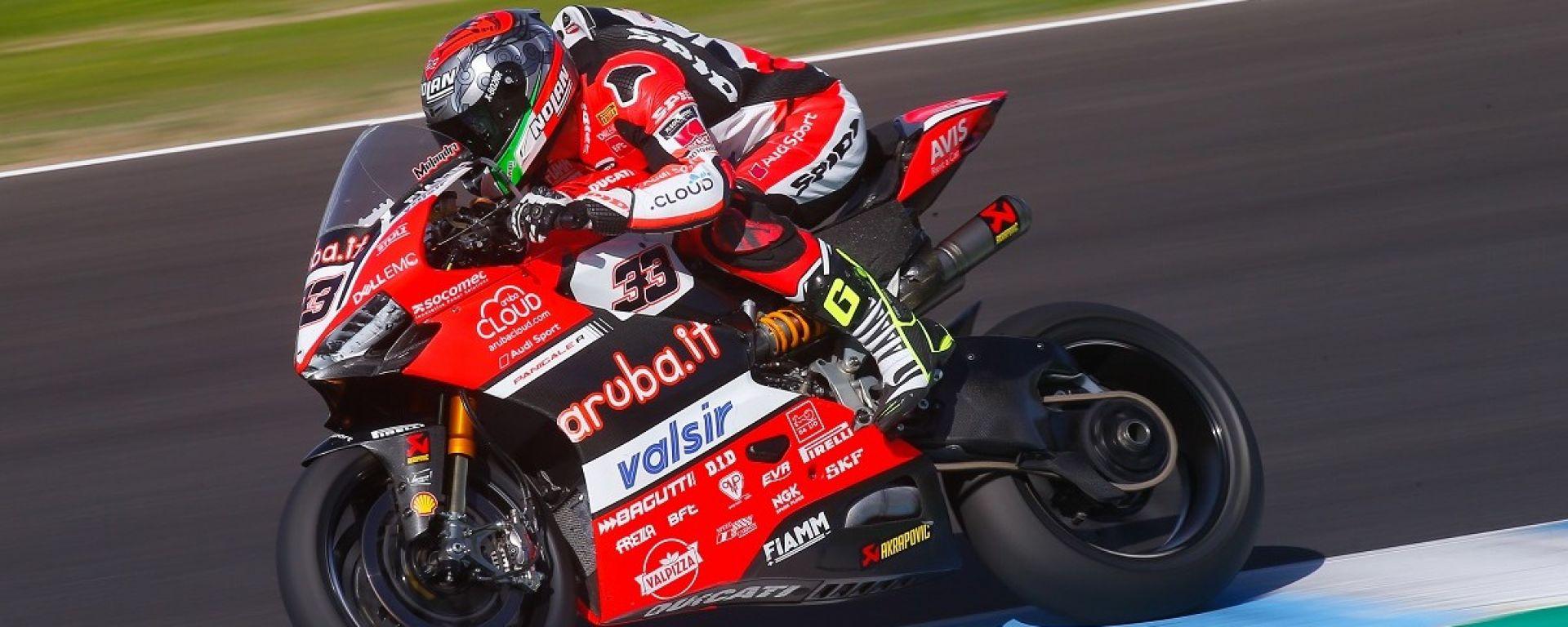 SBK MotoGP 2018, Test Jerez: la Ducati si impone grazie a Dovizioso e Melandri - MotorBox