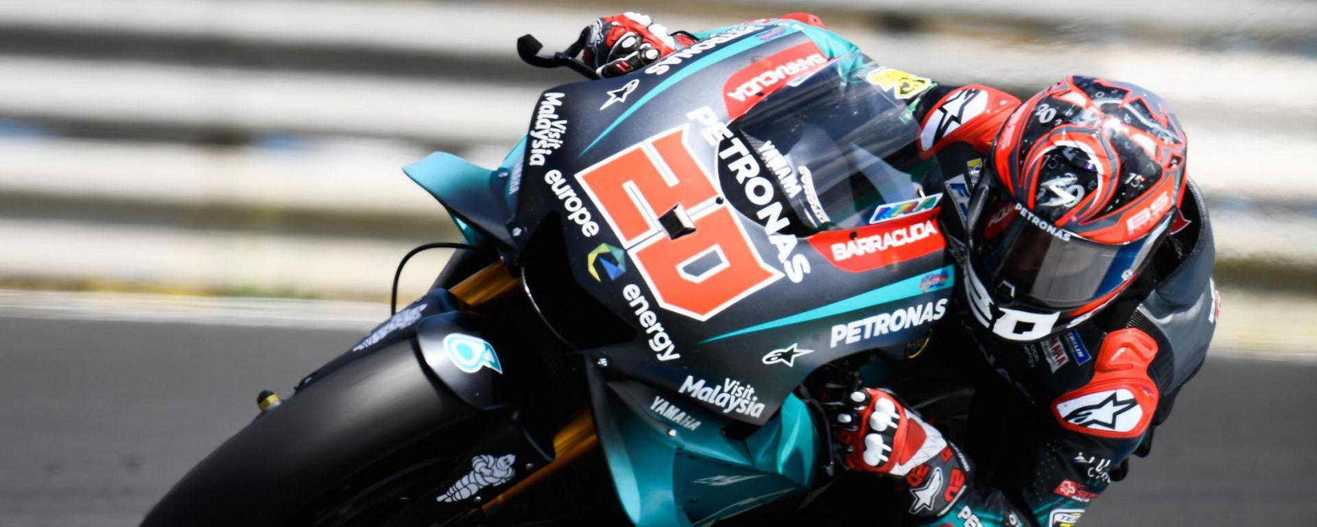 Test Jerez 2019, Fabio Quartararo (Yamaha)