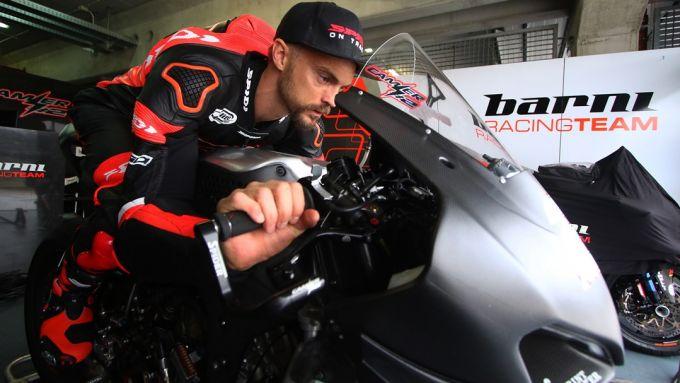 Test Jerez Superbike 2020, Leon Camier (Ducati)